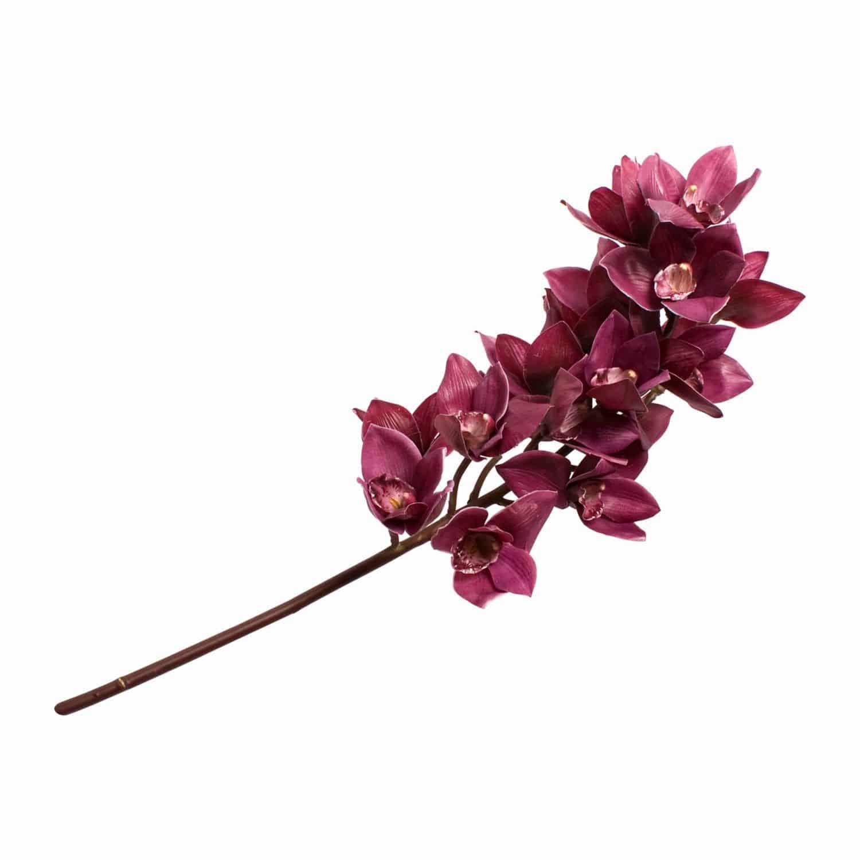 Shop for silk flower cymbidium orchid