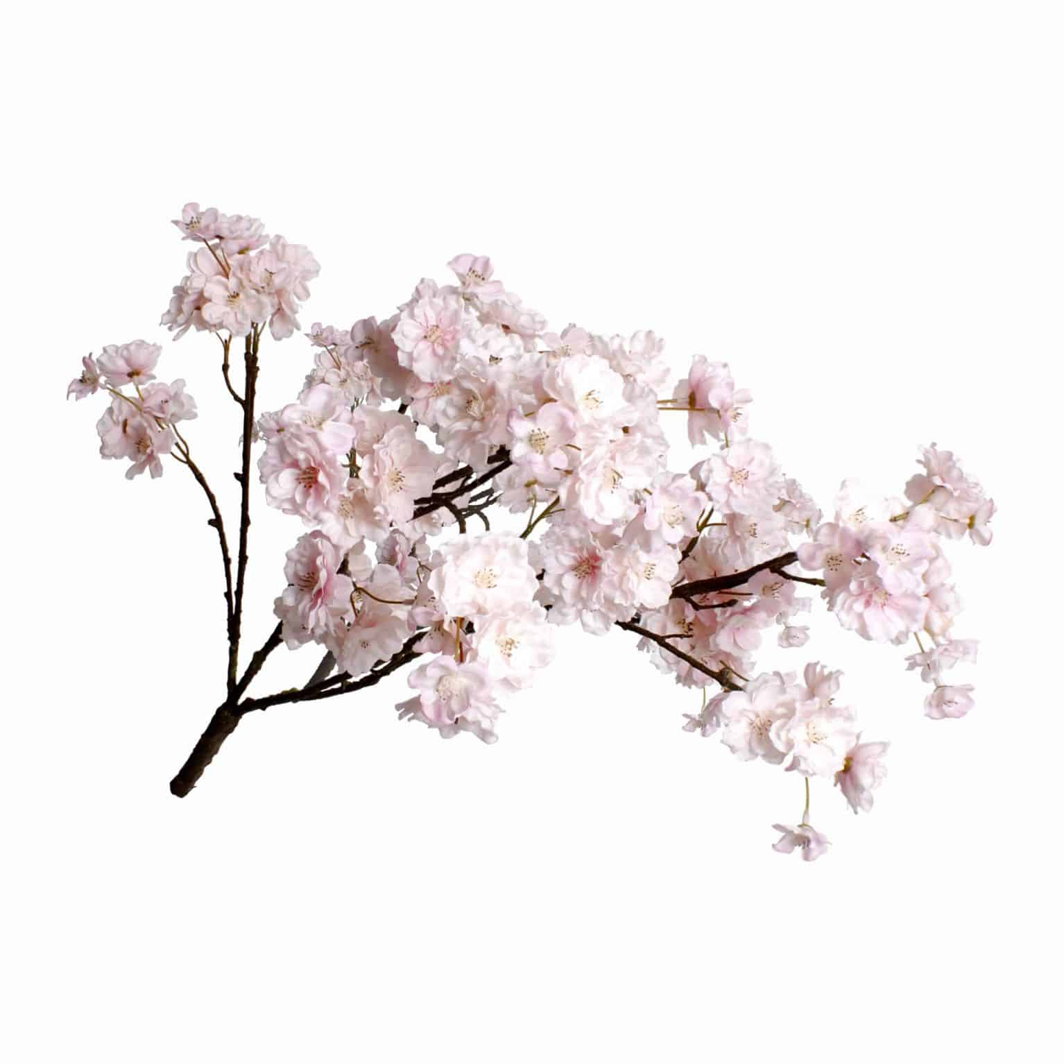 Buy one the best artificial flowers. This faux light peach pink blossom spray stem is an exceptional match of fresh. Versatile to use in many kinds of flower arrangement.
