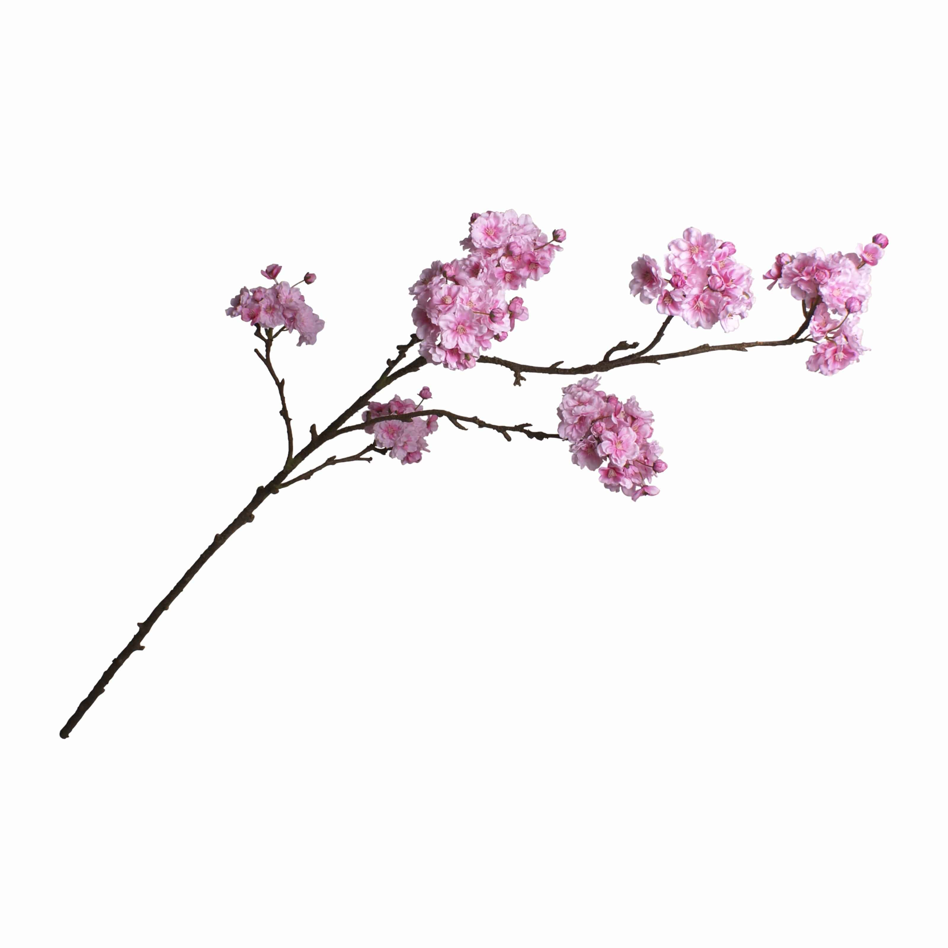Shop for the best artificial flowers. This faux cherry blossom spray stem is an exceptional match of fresh. Versatile to use in many kinds of flower arrangement.