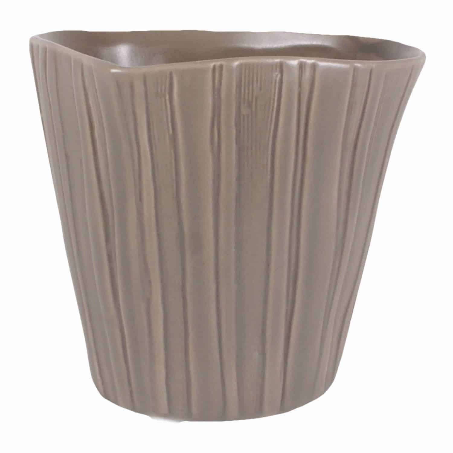 Shop for our light grey handmade versatile little plant pot. A gardening favourite